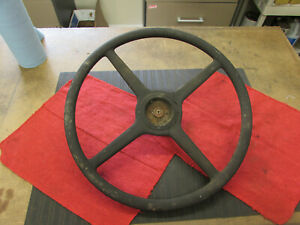 Original Genuine 1932 Ford Truck 4 spoke Steering Wheel Flathead Scta