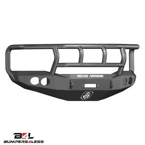 Road Armor 44072b Front Stealth Winch Bmpr Ii Guard For 2006 2008 Dodge Ram 1500