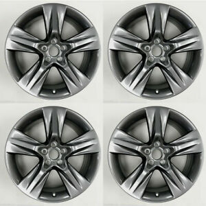 Set Of 4 19 New Satin Wheels For Toyota Highlander 2014 2019 Oe Style 75163