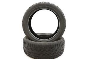 Set Of 2 Used Tires Toyo Studdable 18 Inch Winter Tire 235 45 18 98t 9 32