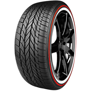 235 55r17 Vogue Tyre Custom Built Radial Viii Red Stripe Red white 99h Sl M s