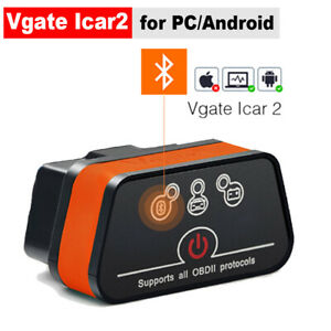 Vgate Icar Elm327 Bluetooth Obd2 Scanner Obdii Code Reader Car Diagnostic Tool