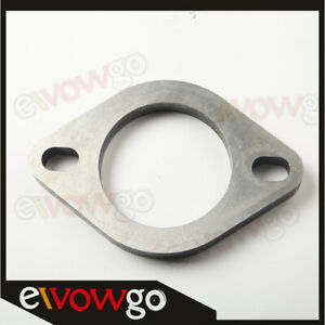 2 5 Id 2 Bolt Mild Steel Exhaust Flange Downpipe Catback