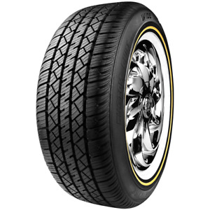 235 60r16 Vogue Tyre Custom Built Wide Trac Touring Ii 100h Sl White gold M s