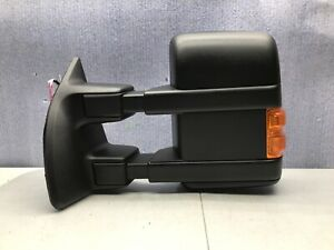 2007 2008 2009 Ford F 250 Left Mirror With Light Heated With Trailer Tow Oem