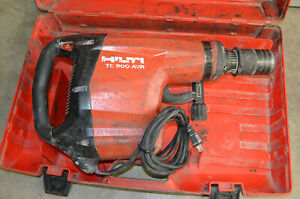 Hilti Te 800 avr Electric Demolition Hammer Chiseling Breaker 120v