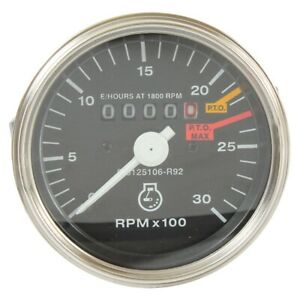 Tachometer Tach Case International Tractor 454 464 Others 3125106r92