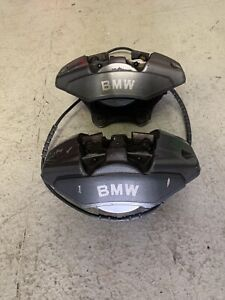 08 13 Bmw 1 Series Brembo Brake 2 Pot Calipers Rear Set Left Right