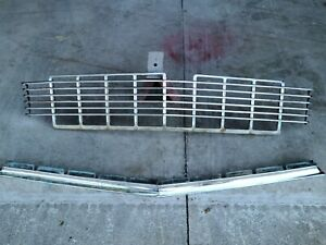 1956 Chevy Belair 210 Oem Lower Grill Chrome Original Stock Bel Air Rat Rod