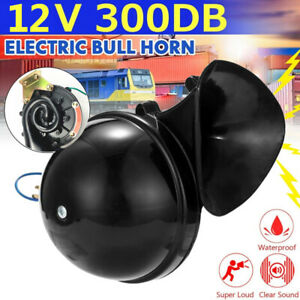 300db 12v Electric Snail Air Horn Loud Sound For Car Motorcycle Truck Boat Usa