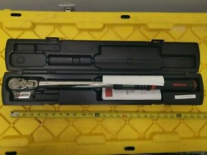 Snap On Digital Torque Wrench 1 2 Dr 12 5 250 Lbs