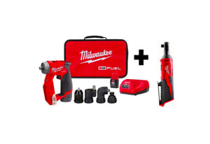 M12 Fuel 12v Cordless 4 in 1 Installation Drill Driver Kit M12 3 8 In Ratchet
