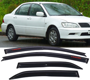 Fit For 01 07 Mitsubishi Lancer Mugen Style Window Visor Guard Shade W Lancer