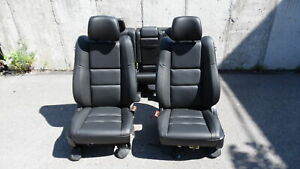 2020 Grand Cherokee Limited Front Bucket Rear 60 40 Leather Seats Rh Lh Oem