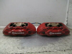 2017 Ford Mustang Front Pair Brembo Calipers Oem
