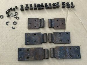 1928 1929 1930 Model A Ford Door Hinges With Hardware Pickup Truck Body Cowl 29