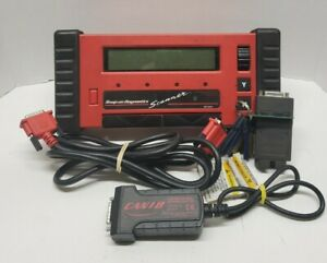 Snap On Mt2500 Scanner Kit W Case Cartridges Cables Adapters