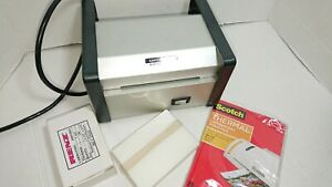 Lamcraft Heavy Duty Thermal Pouch Laminator 4 Laminates With Pouches