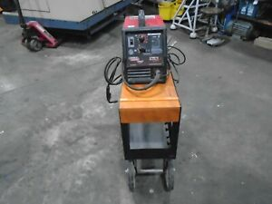 Lincoln 3200 Hd Mig Wire Welder With Cart Mig Gun 120v