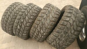 4 Used 33x12 50r22 Rdr Rd 6 Mt Tires Offroad Mud 33 12 50 22 109q Red Dirt Road