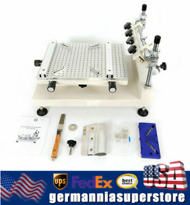 Manual Solder Paste Printing Machine Pcb Smt Stencil Printer Machine 300 400mm