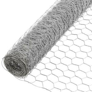 Poultry Fencing Chicken Netting Galvanized Mesh 4 Ft X 150 Ft Metal Net Fence