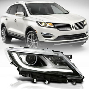 Fit 2015 18 Lincoln Mkc Right Side Xenon Hid Headlight Passenger Projector Lamp