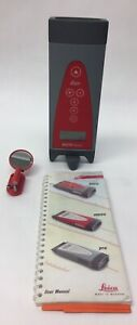 Leica Disto 663300 Basic Handheld Laser Distance Meter With Manual And Mirror