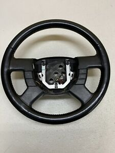 2004 2011 Ford Ranger Steering Wheel Leather Wrapped W Cruise Oem
