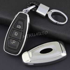 Smart Key Chain Fob Cover Case Holder For Ford Escape Focus Ecosport Kuga Fiesta