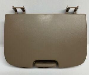 Ford F150 Overhead Console 1997 2003 Tan Sunglasses Cover Storage Lid Oem