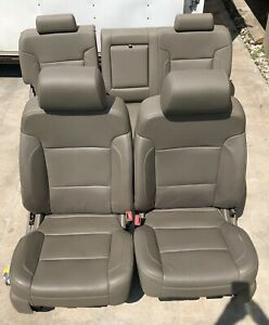14 18 Sierra 1500 Leather Seats Heated Cooled Silverado 1500 Front Rear Set