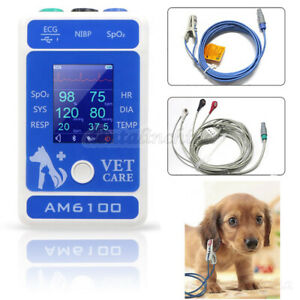 Icu Ccu Patient Animal Monitor Veterinary Protable Multi parameter 6 Parameter