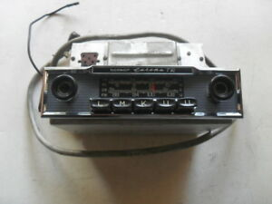 Restored Original Mercedes 1960 s Becker Europa Tr Radio W Amp And Cable