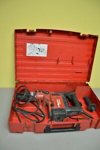 Hilti Te55 Hammer Drill In Case With Handle