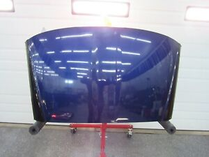 2005 2013 Corvette C6 Oem Removable Roof Panel Fiberglass Targa Top Blue N9
