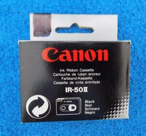 New 2 pack Canon Ir 50 Ii Ribbon Cassette Black See List Of Models Free Shipping