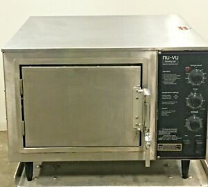 Nu vu Xo 1 Commercial Moving Air Convection Oven Clean Ready For Work