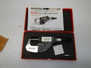 Spi Ip65 0 1 0 00005 Quick action Electronic Micrometer New China