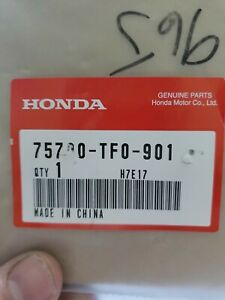 Genuine Oem Honda Civic 2dr Coupe Front Grille H Emblem 2012 2013 Two Door Cpe