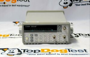 Hp Agilent Keysight 53131a 3ghz Universal Frequency Counttimer W 010 030 Cal