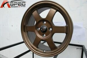 16x7 Full Royal Sport Bronze Wheels Rota Grid 5x114 3 40 set Of 4