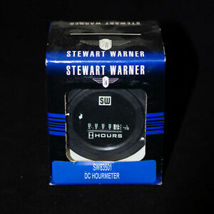 Stewart Warner Sw83501 3 Screw Mount Dc Hourmeter