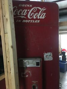 Vintage Vendo Coca Cola Bottle Vending Machine 6 5 Original Not Restored V216a