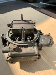 Holley Four Barrel Carburetor Number List 1850 1 1458 In Used Condition
