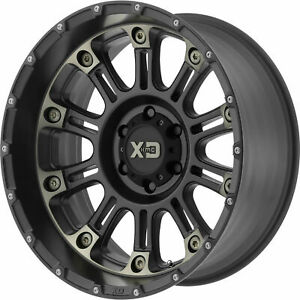 20x9 Black Tint Wheels Xd Xd829 Hoss Ii 8x170 0 set Of 4 125 5