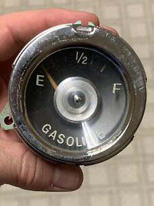 Vintage Gas Gauge Gasoline Auto Car Truck Antique Automobile Dash Instrument