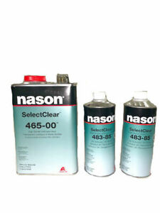 Nason Selectclear 465 00 High Solids Urethane Clear With 2 Activators 483 84 85