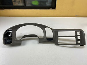 1995 2005 Chevy Astro Gmc Safari Dash Cluster Trim Speedometer Bezel Gray Oem