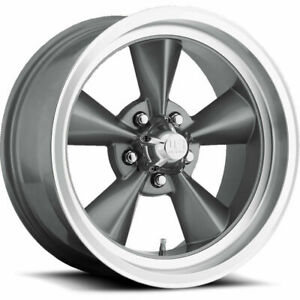 18x8 Gun Metal Wheels Us Mags U102 Standard 5x5 5x127 1 set Of 4 78 1